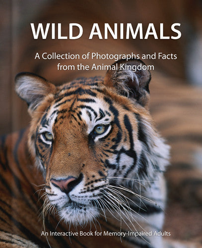 Wild Animals Book for Alzheimer's and Dementia Patients