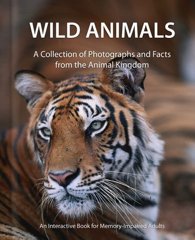 Wild Animals – An Activity Book for Dementia Patients
