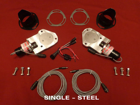High Performance Exhaust Kit (Low Profile)