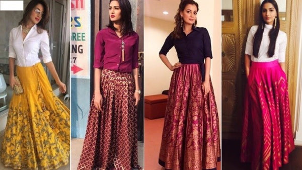 7 Ideas To Turn Everyday Clothing Into Indo Western Style!