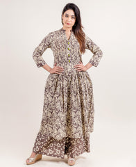 How to wear Top 10 Designer Indo Western Kurtis of Missprint?