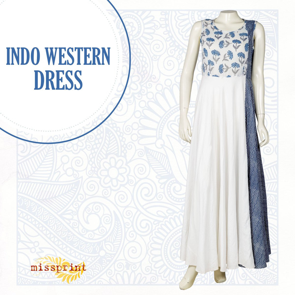 Embrace the Best of Modern Styles in Indo Western Dress