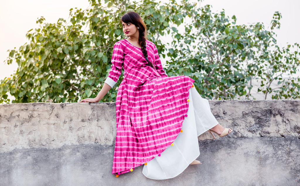 Look Hacks: Revisit Indo Western Kurtis Style With Missprint