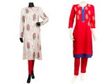 What is the Extra Appeal Factor on Block Print Kurtis?