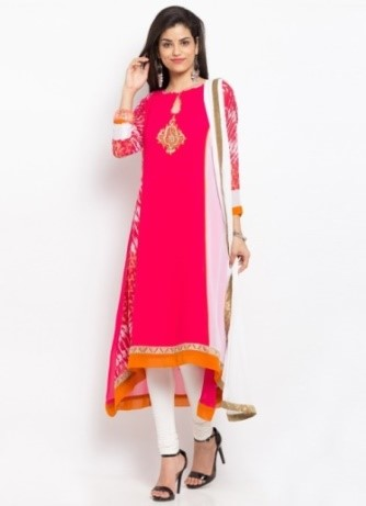 Asymmetrical Anarkali