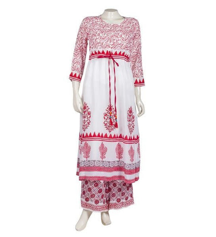 Empire Cut Anarkali Printed Kurtis