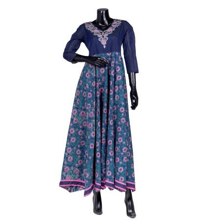 Floor Length Indo Western Dress
