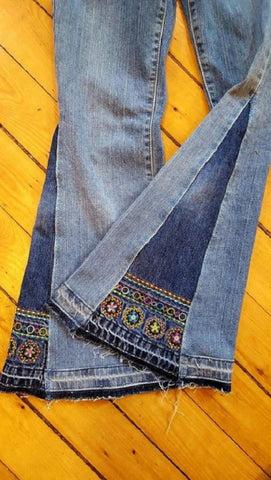 Glam up your jeans!