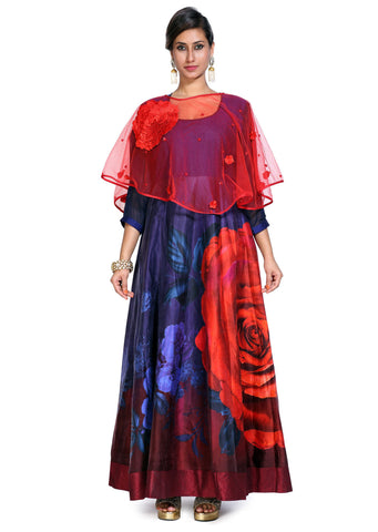 Gown Styled Cape kurtis
