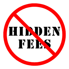 Hidden Fees - Missprint