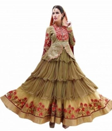 Layered Anarkali