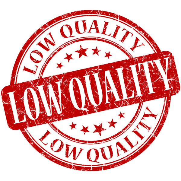 Low Qualility Sale - Missprint