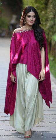 Party Wear Cape Kurtis
