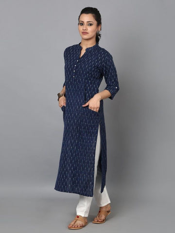 Pocket Styled Printed Kurtis