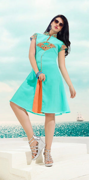 Short Straight Cut kurti