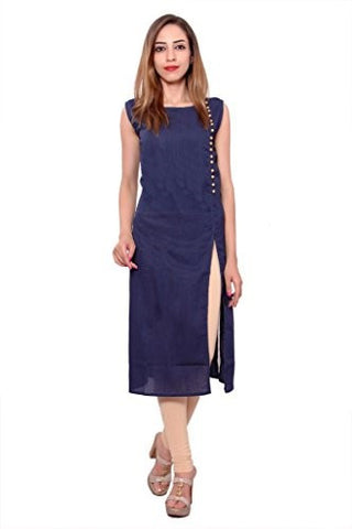 Side Cut Printed Kurti