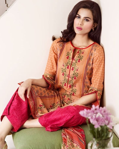 Straight Cut printed Kurti