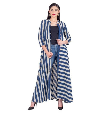 Stylish Indo western Kurti with Jeans