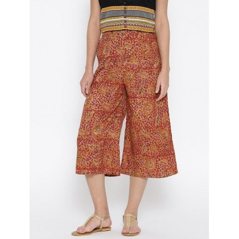 Ethnic printed Culottes
