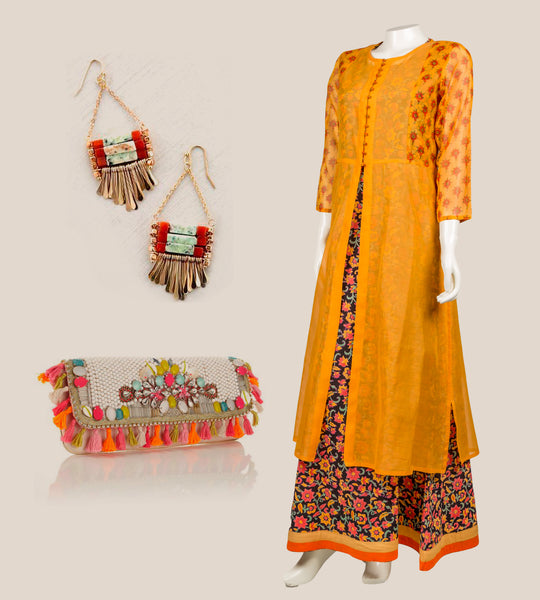indo western kurtis for female