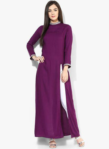 indo western kurtis for ladies