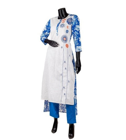 indo western kurtis for women