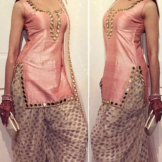 indo western suit for female