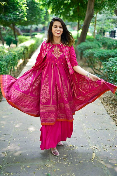 indo western suit for womens