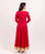 3-4 Sleeve floor length dress online shopping