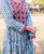 Block Printed Anarkali Dress for women