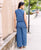 Blue Palazzo for women online