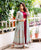 Designer Indowestern Dress with Floor Length Jacket