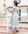 Designer Printed Long Dress online shopping