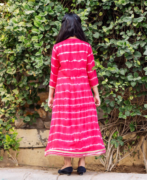 Double Layered Long Dress for Baby Girl