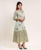 Hand Block Printed Dress online