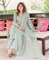 3 Piece Set Straight Printed Suit Set with Kota Doriya Dupatta