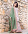 Pink Embroided  Straight Short Kurta Set with Kota Doriya Dupatta