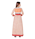 indo western kurti with plazo