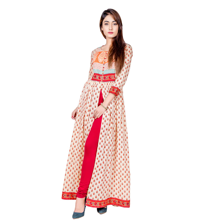 indo western kurtis for girls