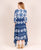 Blue Tie and Dye Indo Western Dress