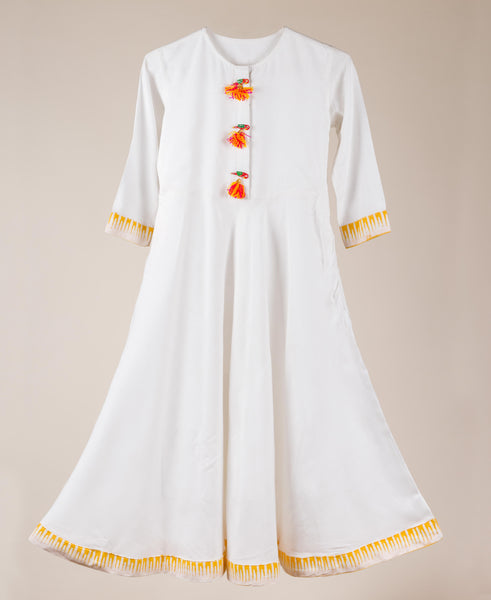 Kids Ethnic Wear Indian Traditional Dress For Baby Girl