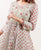 Long embroidered hand block printed gowns for women online shopping