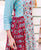 Block Printed Kurta with Straight Pants online
