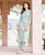 Straight White and Gold Printed Kurta with Pants