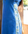 Blue Chanderi Hand Block Printed Kurta ( 1Pc. )