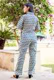 Indigo Regular Straight Fit Jumpsuit for Girls Online at best prices
