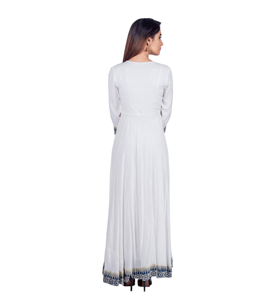 Indo Western Maxi Dress online