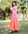 Ombre Tier Long Dress for Women Online shopping india