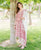 Straight Cut Printed Pink Kurta Set with Cotton Dupatta