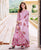 Pink Hand Block Printed  Kurta and Sharara with Dupatta